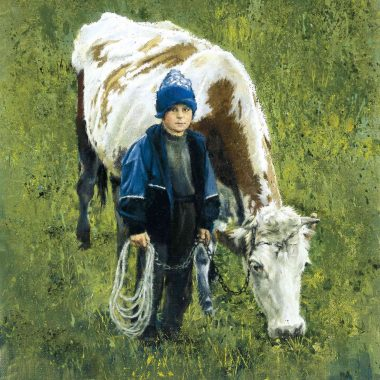 boy-with-cow by Clark Hulings