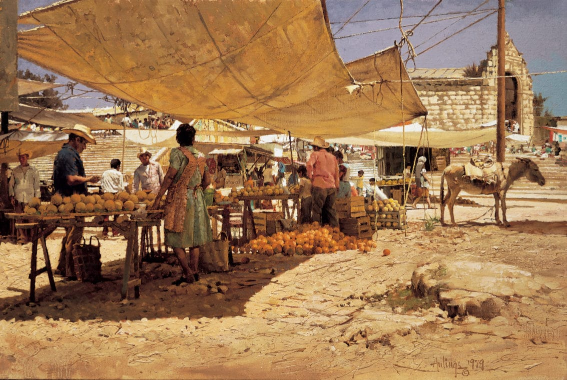 The Melon Stand, by Clark Hulings