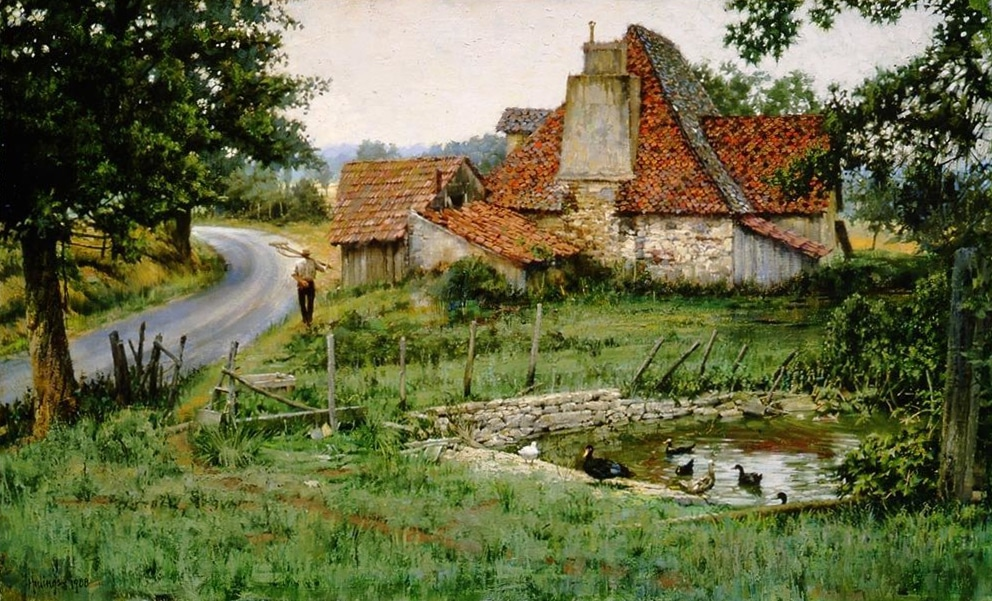 AnAncientFrenchFarmhouse