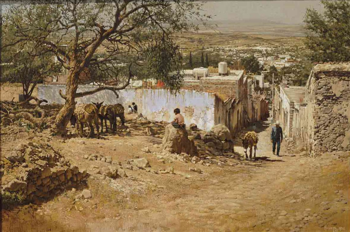 The Guardian (San Miguel), by Clark Hulings