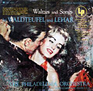 Clark Hulings Album Cover Waltz Waldteufel & Lehar