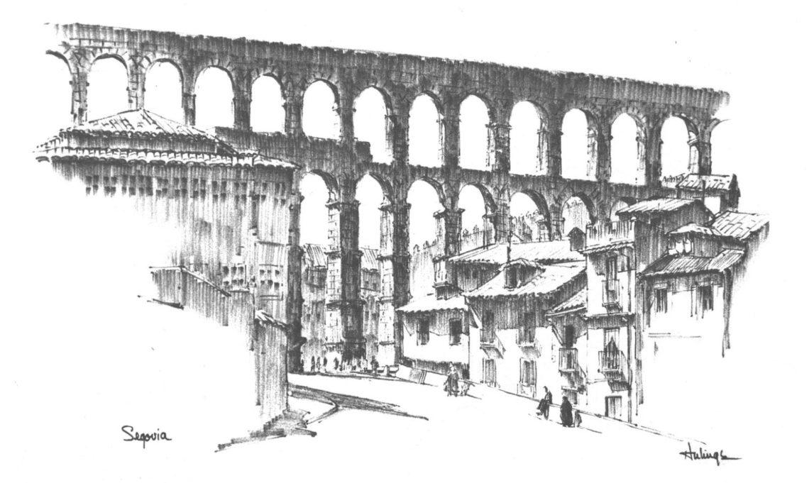 Segovia by Clark Hulings