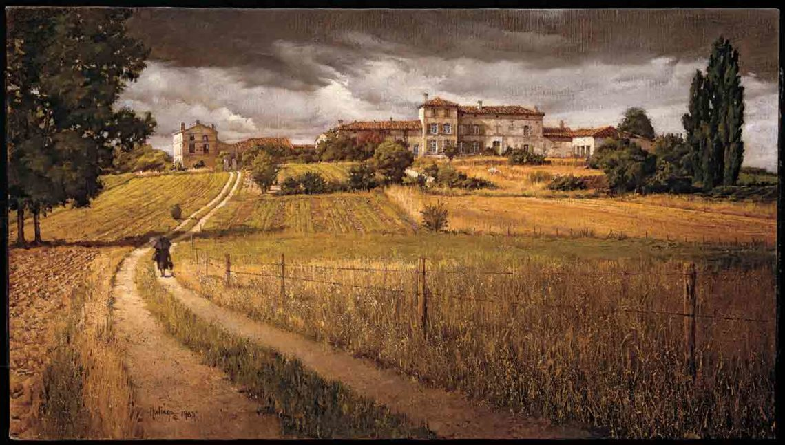 Hiersac Château, by Clark Hulings