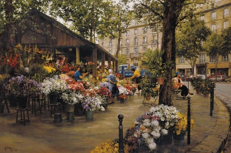 Place des Ternes, by Clark Hulings