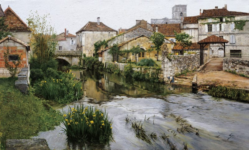 Breton Reflections, by Clark Hulings