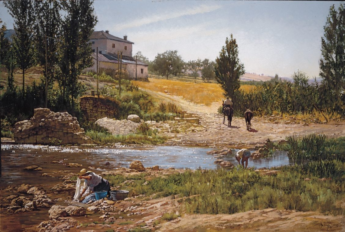 Noonday Andalucia, by Clark Hulings