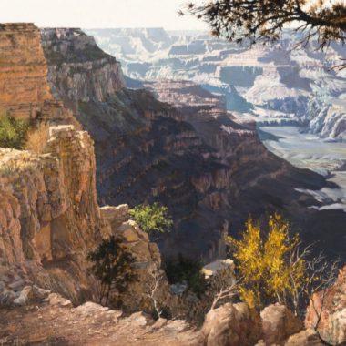 Auction Alert: Major Hulings Grand Canyon Painting