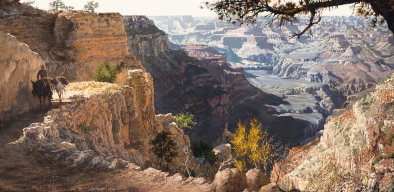 Grand Canyon, by Clark Hulings