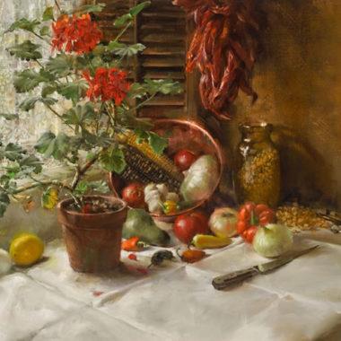 Santa Fe Kitchen Corner, by ClarkHulings