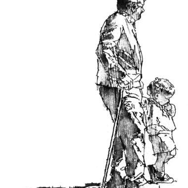A Walk with Grand-Père