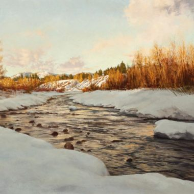 Twilight on the Chama, by Clark Hulings