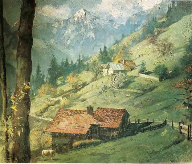 Jungfrau, by Clark Hulings