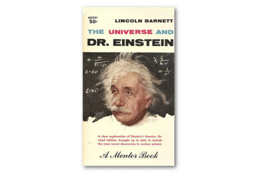 The Universe and Dr Einstein, cover by Clark Hulings