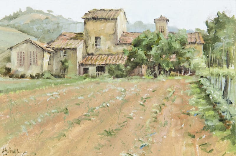 Bordeaux Farm, by Clark Hulings