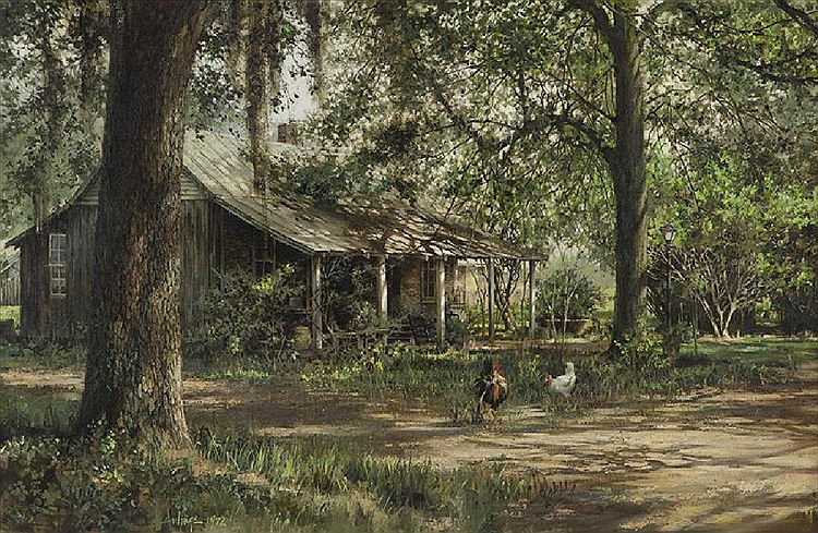 Windrush Plantation, by Clark Hulings