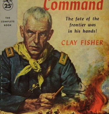 The Brass Command by Clay Fisher, cover by Clark Hulings