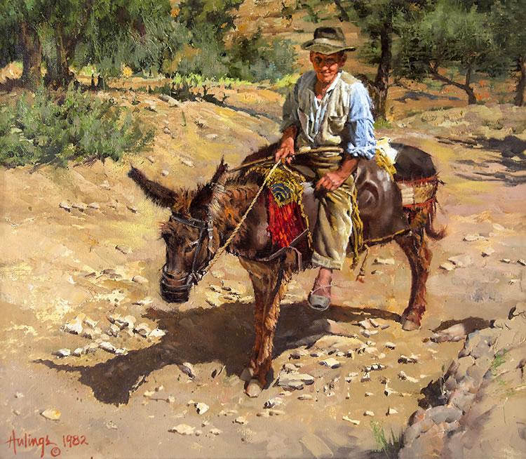 Jose on Maria-Spain, by Clark Hulings