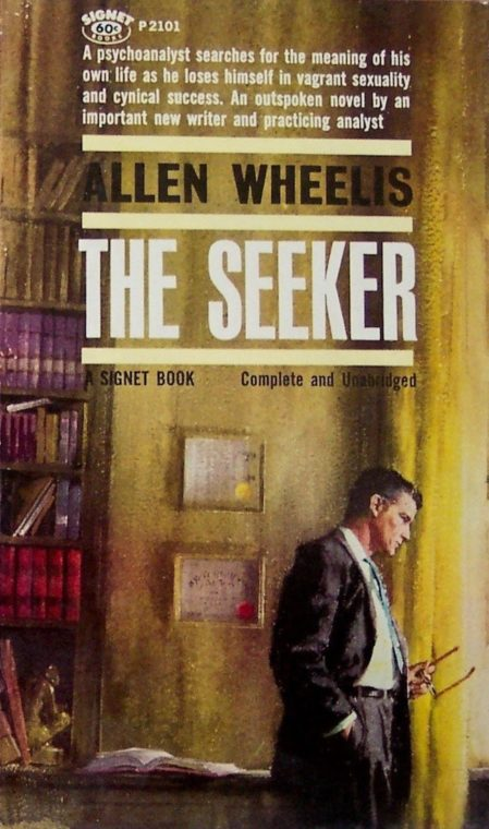 Allen Wheelis, The Seeker, cover by Clark Hulings