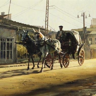 Konya Carriage, by Clark Hulings