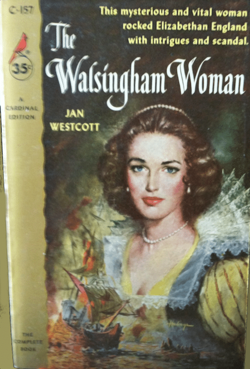 The Walsingham Woman, cover by Clark Hulings