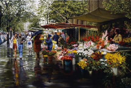 Fleurs de la Madeleine, by Clark Hulings