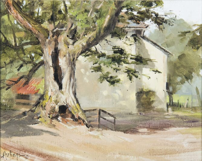 Hollow Tree, by Clark Hulings