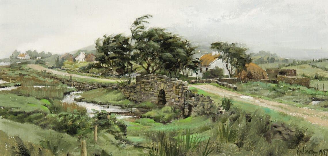 Stone Bridge, by Clark Hulings