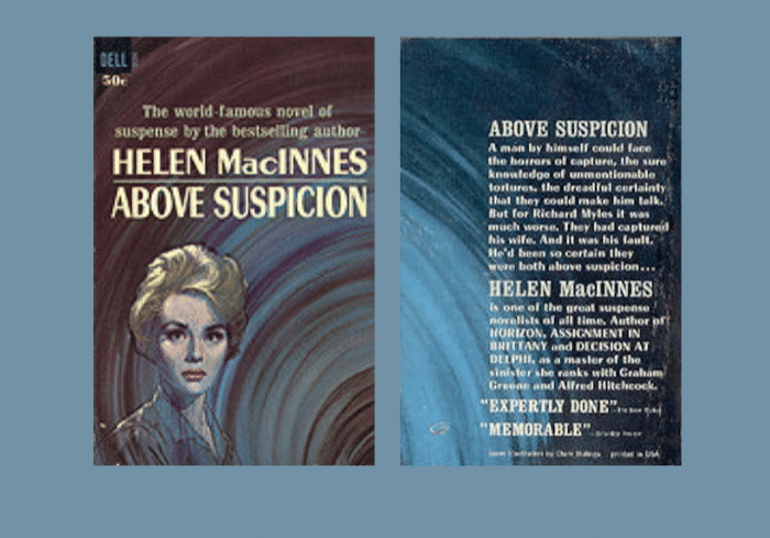 Above Suspicion, cover by Clark Hulings