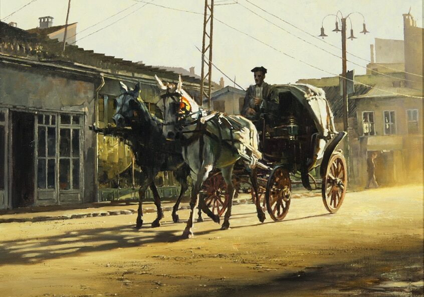 Konya Carriage, by Clark Hulings