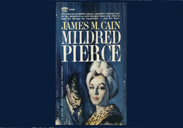 Mildred Pierce, cover by Clark Hulings