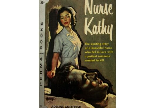 Nurse Kathy, cover by Clark Hulings