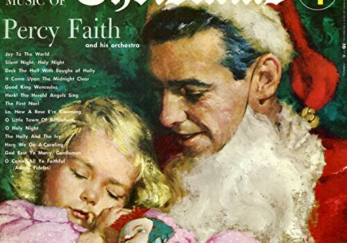 Percy Faith Music of Christmas, cover by Clark Hulings