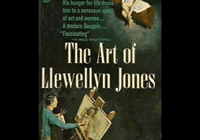 The Art Of Lewellyn Jones, cover by Clark Hulings