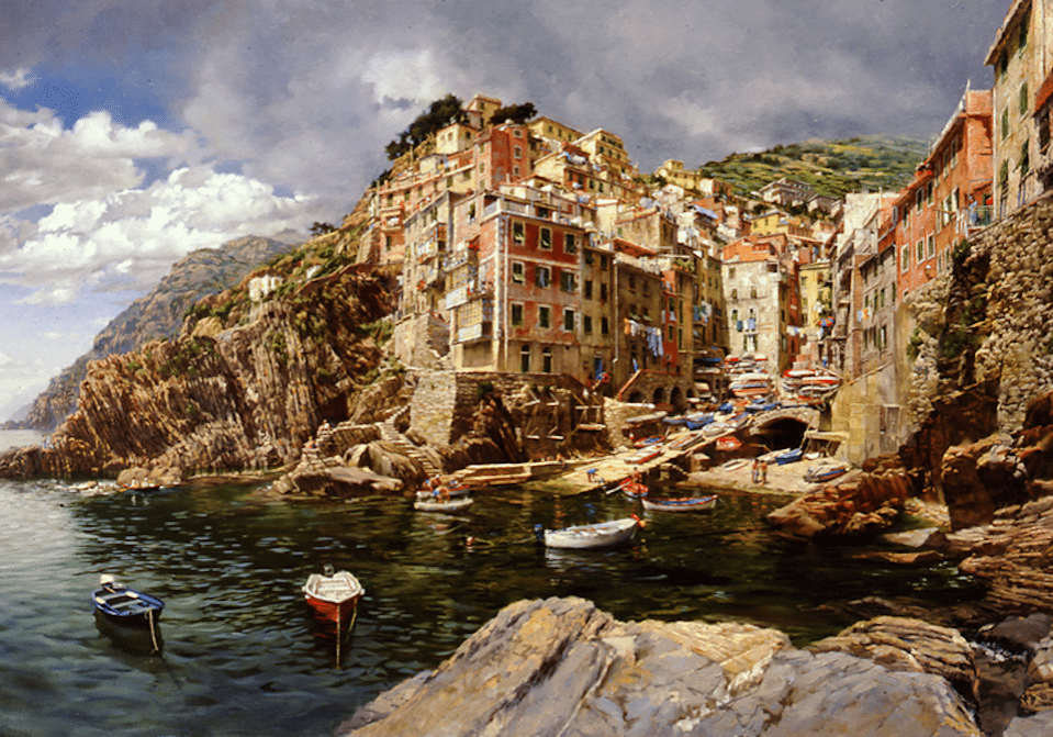 Riomaggiore, Sunday Afternoon